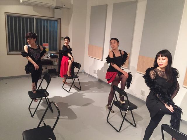 バーレスク ダンス 教室 東京