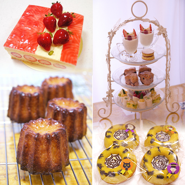 東京、大阪のパン教室、ケーキ教室、料理教室 ハッピークッキング   HAPPY COOKING クッキングスクール